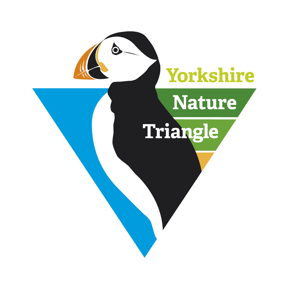 Nature triangle logo